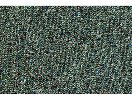 Metrážový koberec New Techno 3547 zelené - Rozměr na míru bez obšití cm