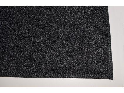 Tapibel Kusový koberec Supersoft 800 černý - 60x100 cm