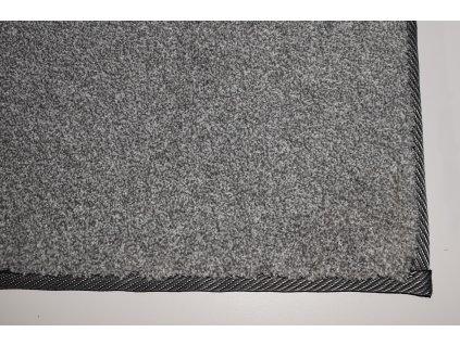 Tapibel Kusový koberec Supersoft 840 sv. šedý - 60x100 cm