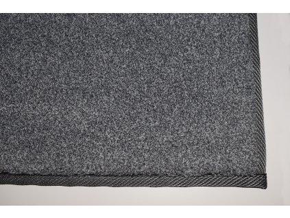 Tapibel Kusový koberec Supersoft 850 tm. šedý - 60x100 cm