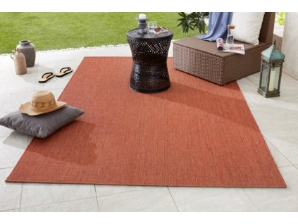 Hanse Home Collection koberce AKCE: 80x200 cm Kusový koberec Meadow 102725 terracotta - 80x200 cm
