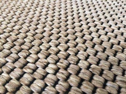 Vopi koberce AKCE: 100x400 cm bez obšití Metrážový koberec Nature světle béžový - Rozměr na míru bez obšití cm