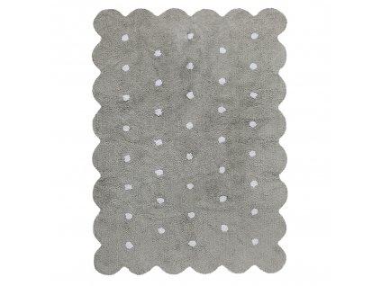 Lorena Canals koberce AKCE: 120x160 cm Ručně tkaný kusový koberec Biscuit Grey - 120x160 cm