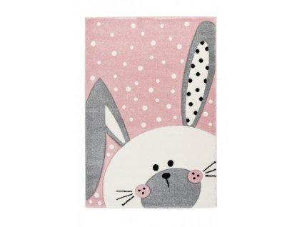 Lalee koberce Dětský kusový koberec Amigo 324 pink - 120x170 cm