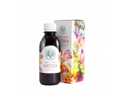 BILEGRIA BILEGRIA MEDEA bylinný sirup pro duševní pohodu s kozlíkem a plicníkem 200 ml