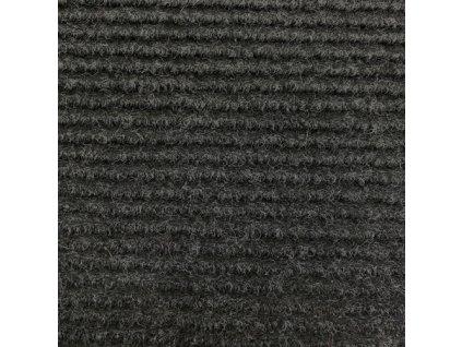 Vopi koberce AKCE: 200x200 cm Kusový koberec Quick step antracit čtverec - 200x200 cm