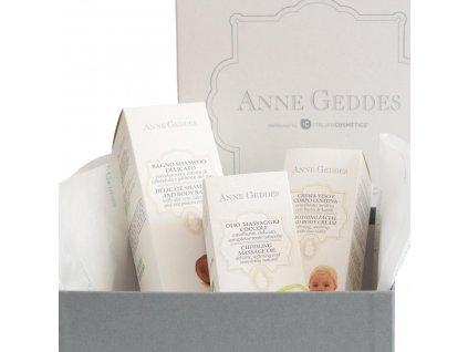 Anne Geddes Italian cosmetics Anne Geddes dárkový box plný bio kosmetiky pro děťátko