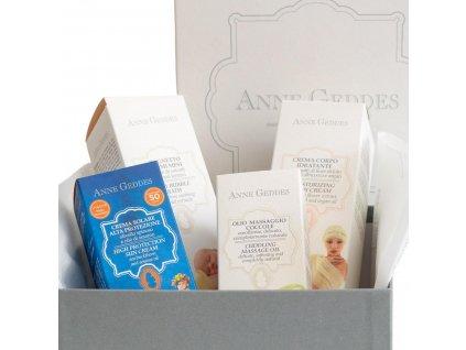 Anne Geddes Italian cosmetics Anne Geddes dárkový box plný bio kosmetiky pro maminku a děťátko