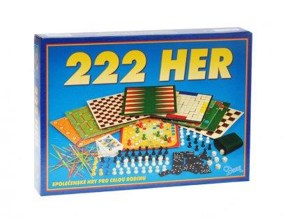 Společenská hra 222 her v krabičce