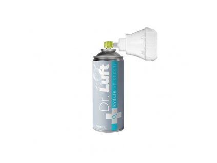 Kyslík ve spreji Dr. Luft - 8L