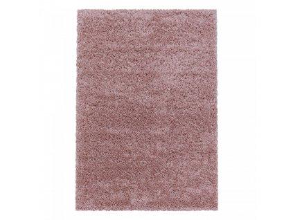 Ayyildiz koberce AKCE: 120x170 cm Kusový koberec Sydney Shaggy 3000 rose - 120x170 cm