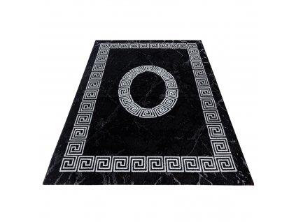 Ayyildiz koberce AKCE: 120x170 cm Kusový koberec Plus 8009 black - 120x170 cm