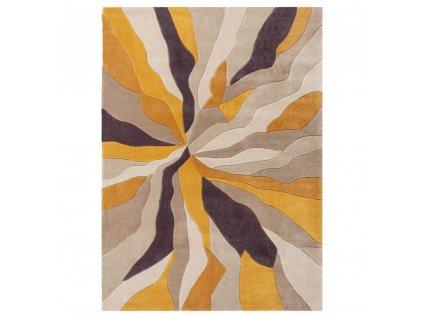 Flair Rugs koberce AKCE: 120x170 cm Ručně všívaný kusový koberec Infinite Splinter Ochre - 120x170 cm