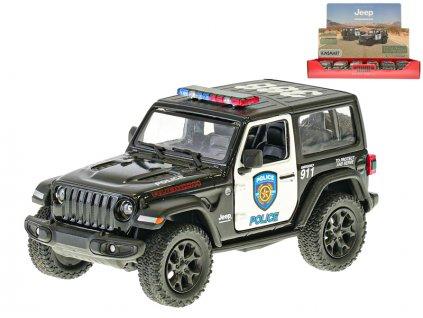 Auto policie Jeep Wrangler 12,5cm kov na zpětný chod 12ks v DBX