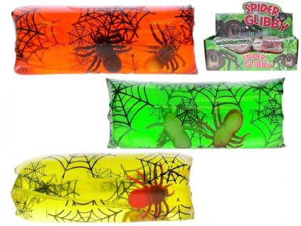 Vodní had 13cm - pavouci v sáčku 3barvy 12ks v DBX