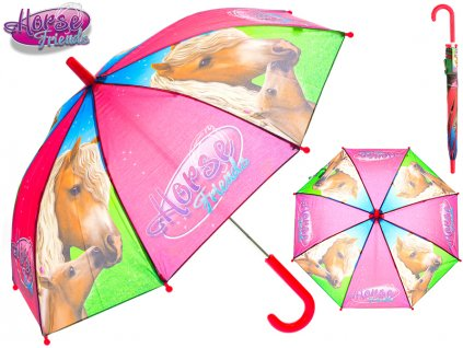 Horse Friends deštník 70x60cm v sáčku
