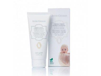 Anne Geddes Italian cosmetics Anne Geddes Bio Dětský obličejový a tělový krém 100 ml
