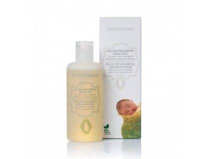 Anne Geddes Italian cosmetics Anne Geddes Bio Dětský vlasový a tělový šampon 250 ml