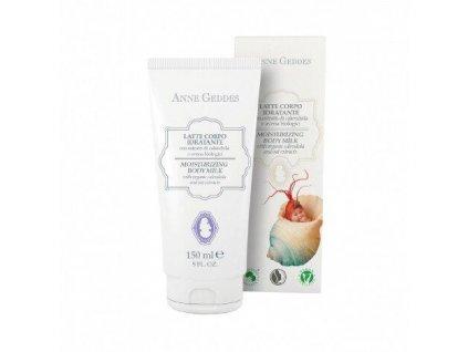 Anne Geddes Italian cosmetics Anne Geddes Hydratační tělové mléko pro děti s měsíčkem a ovesnými výtažky 150 ml