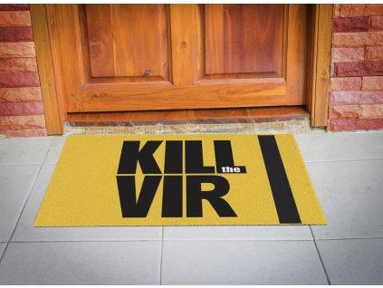 Rohožka KILL VIR 40x60 cm - 40x60 cm