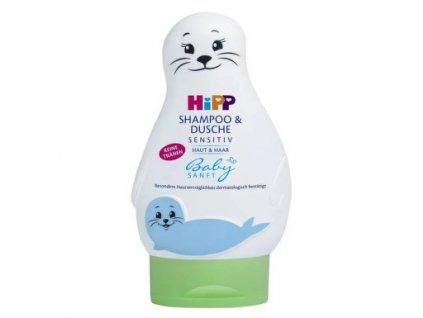 """Babysanft Šampón """"Vlasy & Tělo"""" (Lachtan)"""