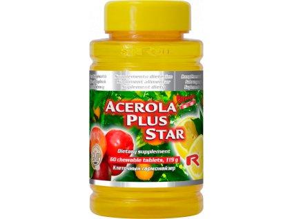 ACEROLA PLUS STAR, 60 tbl - vitamin C