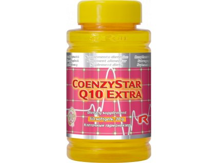 COENZYSTAR Q10 EXTRA, 60 sfg - koenzym Q10, 100 mg, karnitin