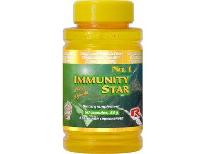 IMMUNITY STAR, 60 cps - směs bylin – imunita