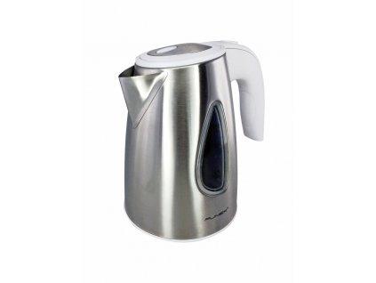 Rychlovarná konvice - nerez, bílé madlo - Punex WSK6101