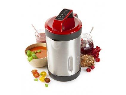 Automatický polévkovar s funkcí marmelády - DOMO DO719BL