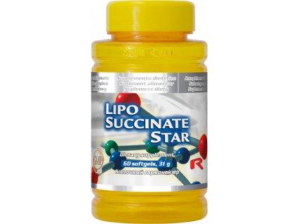 LIPO SUCCINATE STAR, 60 sfg - kyselina alfa-lipoová, vitamin E