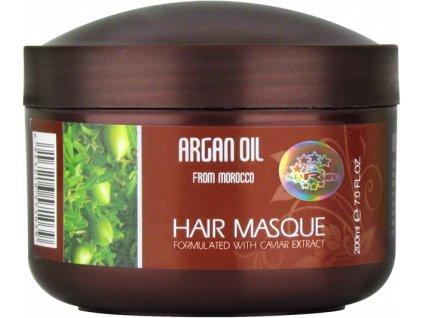 ARGAN HAIR MASQUE CAVIAR ESSENCE, 200 ml - maska na vlasy s výtažky z kaviáru