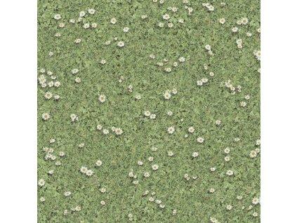 Beaulieu International Group PVC podlaha Playtec 2502 Daisies - Rozměr na míru cm