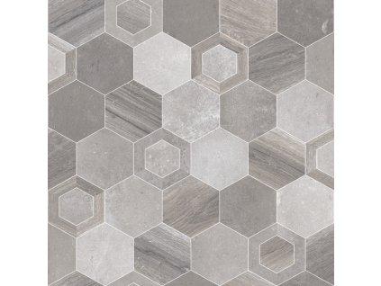 Beaulieu International Group PVC podlaha Fortex Grey 2939 - Rozměr na míru cm