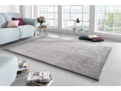 Mint Rugs - Hanse Home koberce AKCE: 120x170 cm Kusový koberec Glam 103014 Silver - 120x170 cm