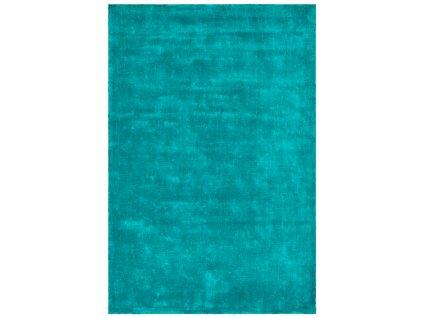 Obsession koberce AKCE: 160x230 cm Ručně tkaný kusový koberec Breeze of obsession 150 PETROL - 160x230 cm