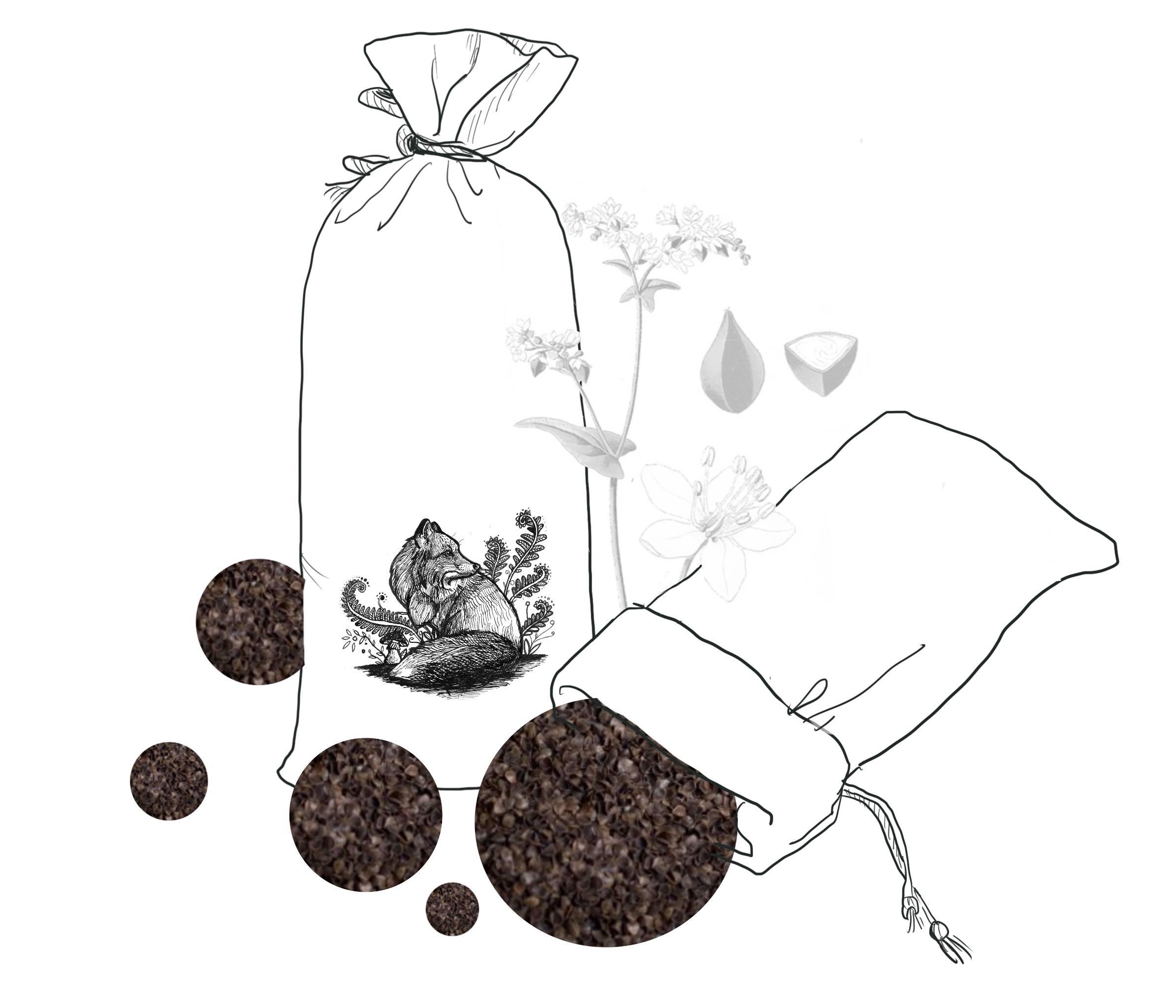 Pohanková slupka jako udržitelná výplň do meditačního polštáře