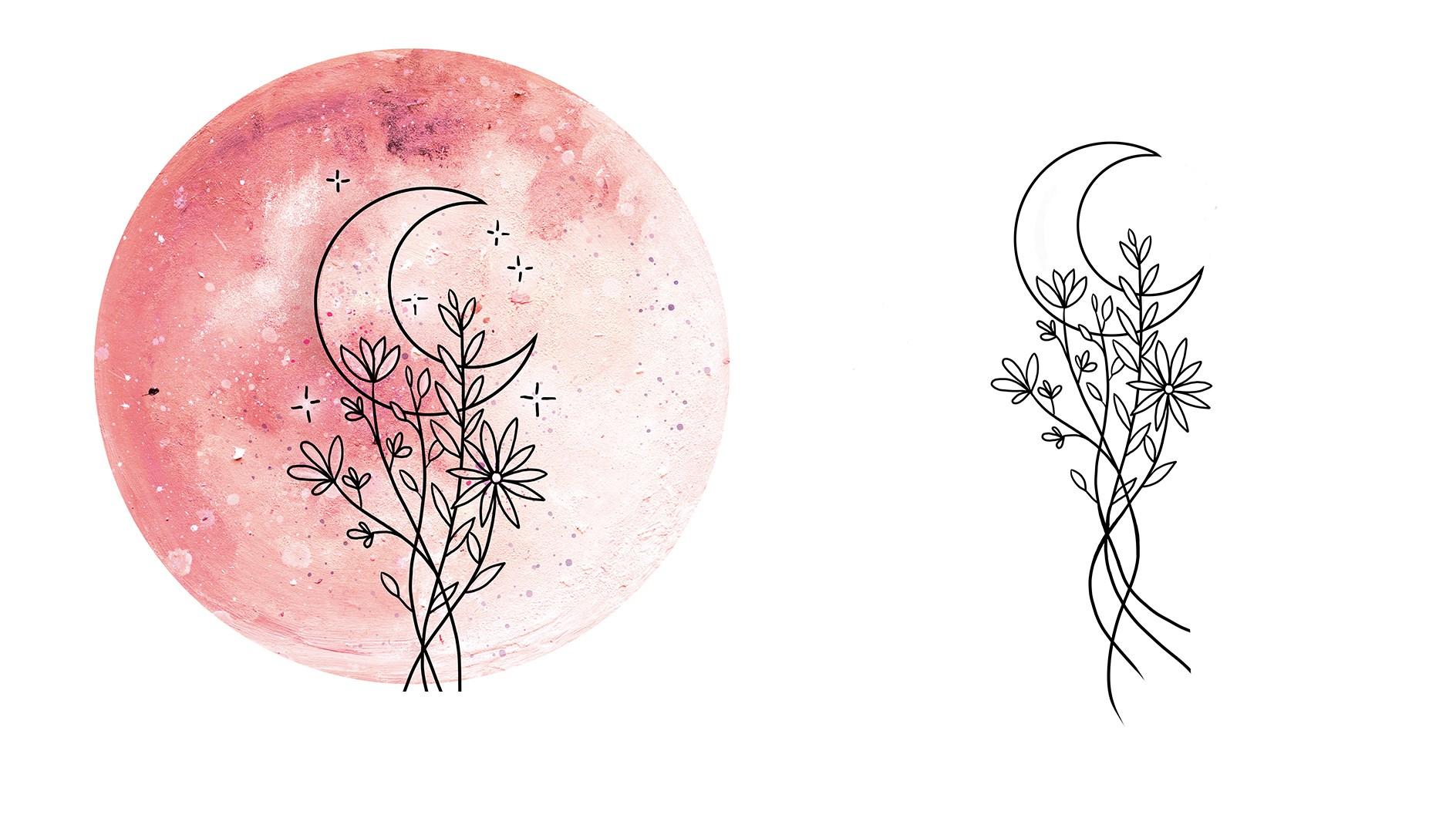 Niky-namaste-kolekce-meditacni-polstar-zafu-blooming-moon