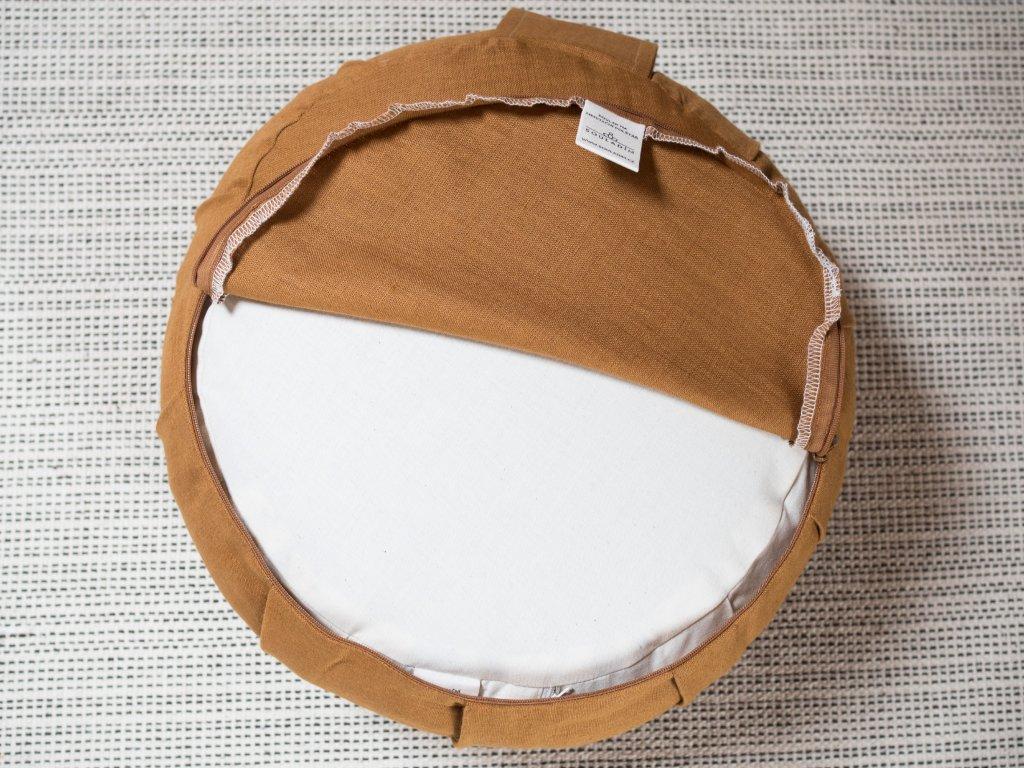 Zafu amber meditacni polstar 1