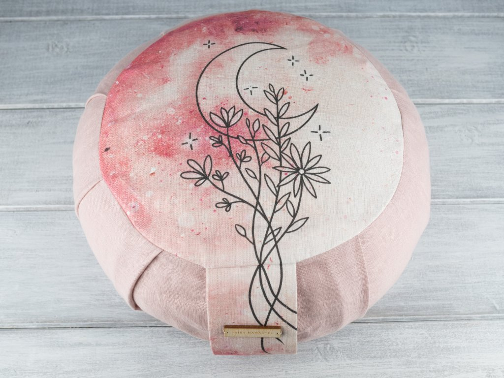 Meditacni polstar zafu blooming moon 5