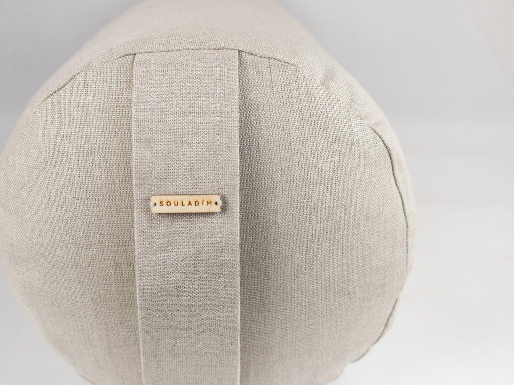 Lneny bolster rustic natural 1
