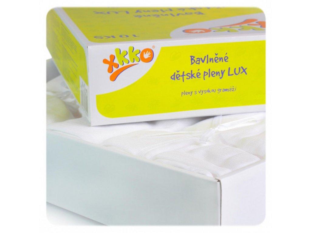 vysokogramazne detske plienky xkko lux 80x80 biele 5b2