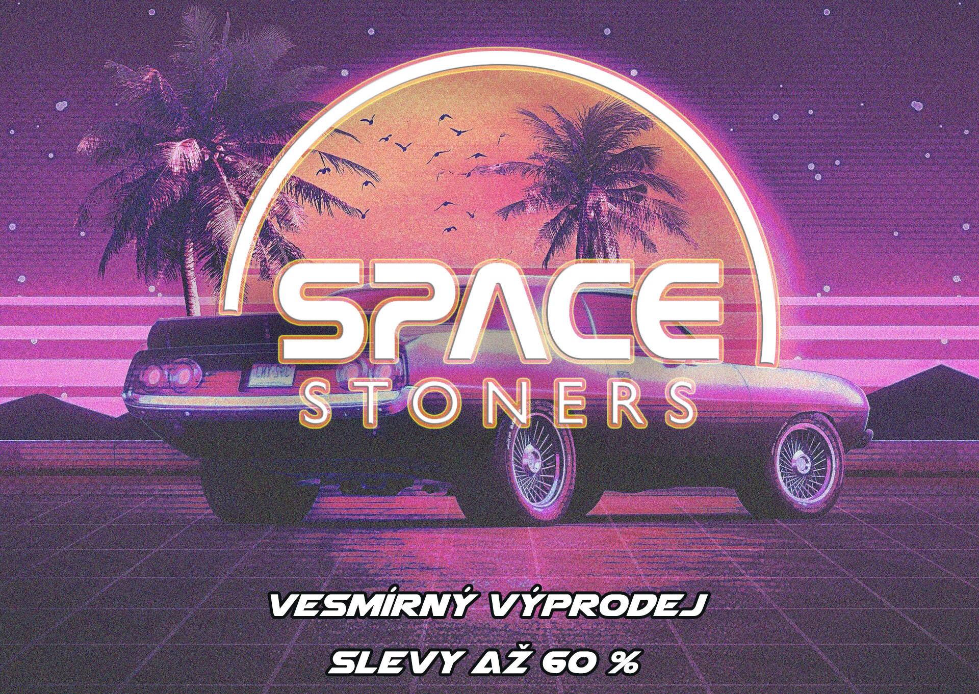 Prázdninový výprodej Space Stoners