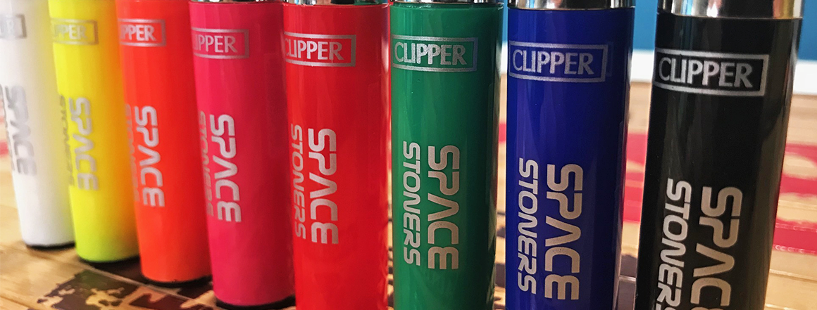 Space Stoners Clipper Lighter