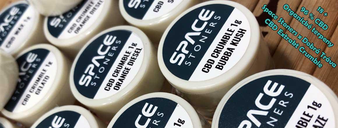 CBD Extrakty Space Stoners x Dobrá Tráva
