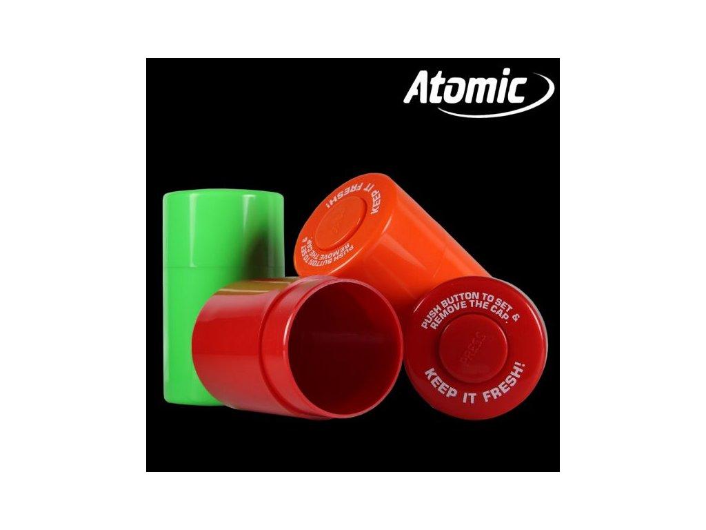 Vzduchotěsná dóza Atomic Neon Color 120 ml