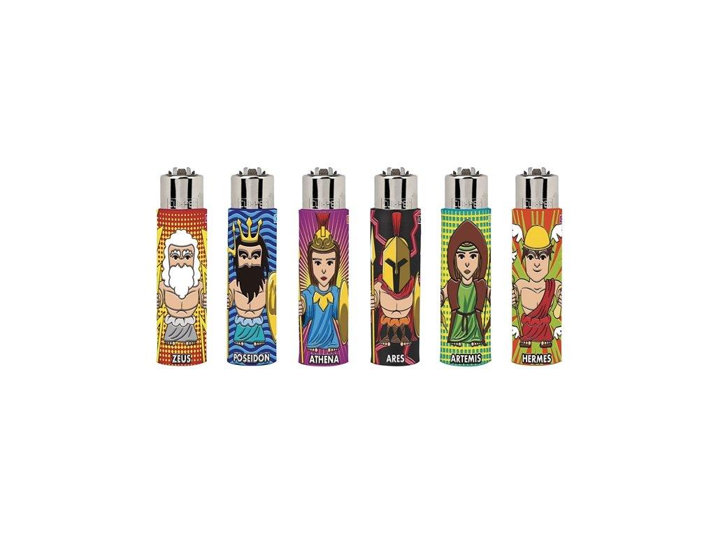 Zapalovač CLIPPER ® The Coolest Mythology