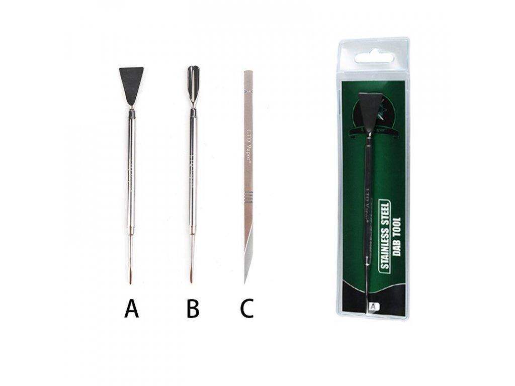 Nerezový Dabber Tool / Rosin Scraper LTQ