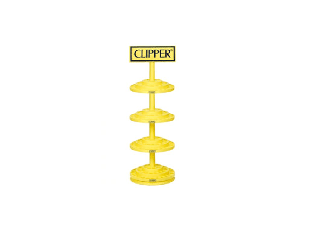 Plastový stojan Clipper Lighters Circle 4 x 48