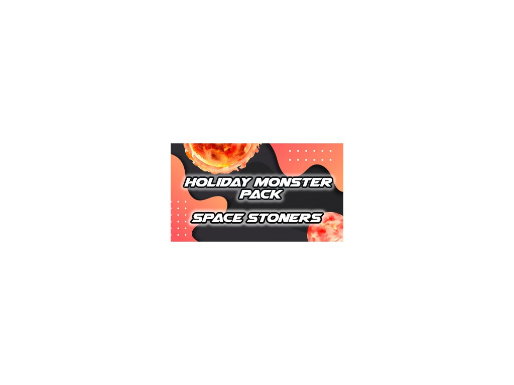 Space Stoners GALAXY Holiday Monster Stoner Pack